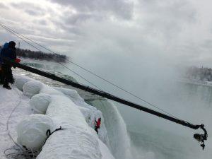Apex-Video-Productions Niagra Falls ice climb 2
