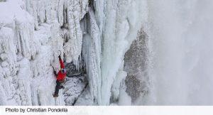 Apex-Video-Productions Niagra Falls ice climb feature Christian Pondella